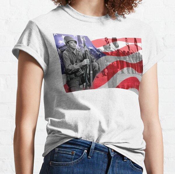 Audie Murphy American War Hero Classic T-Shirt