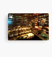 Tobacco Jars Canvas Print