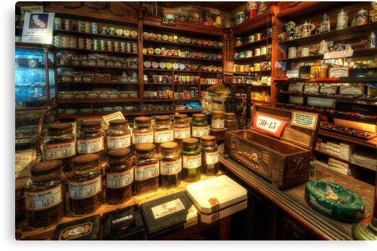 Tobacco Jars by Yhun Suarez