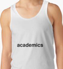 academics Tank Top