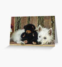 I miss my Pooky Bear! Greeting Card
