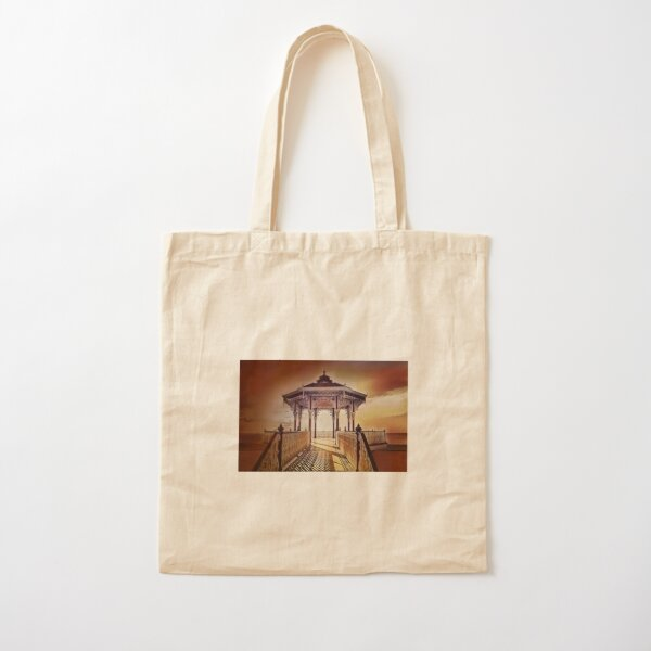 Brighton Bandstand  Cotton Tote Bag