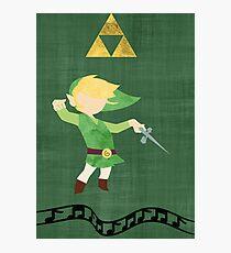 The Legend of Zelda : The Windwaker Photographic Print