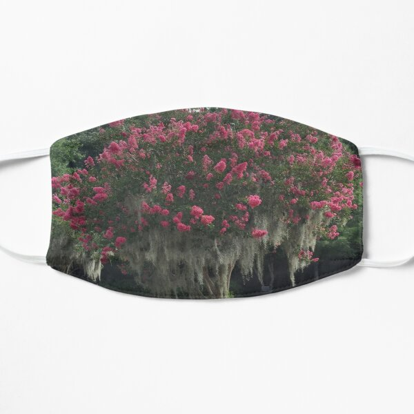 Red Crepe Myrtle Mask