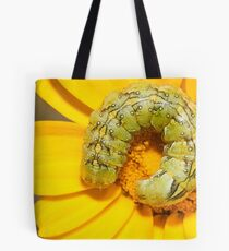 coiled caterpillar Tote Bag