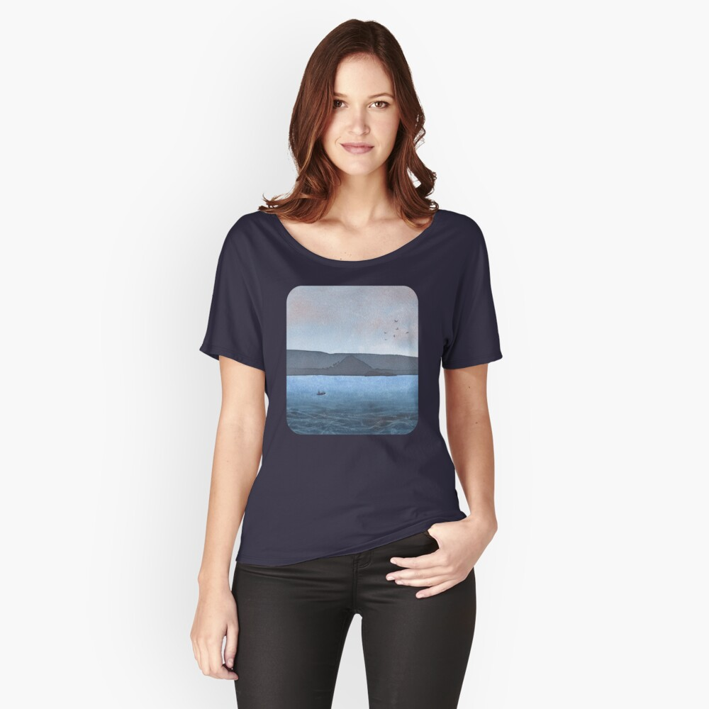 Berwick Law and Craig Leith, November 2018 Relaxed Fit T-Shirt