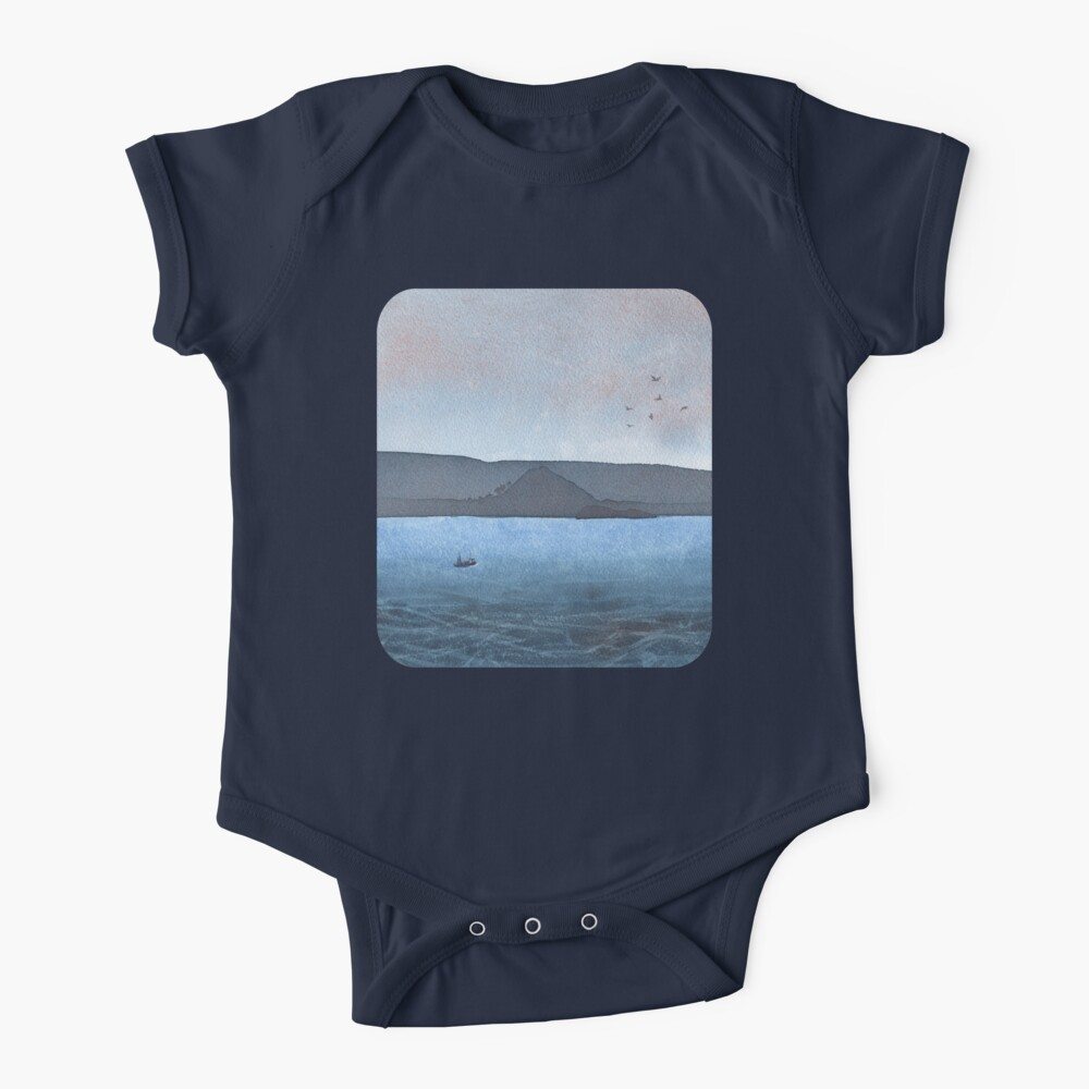 Berwick Law and Craig Leith, November 2018 Baby One-Piece