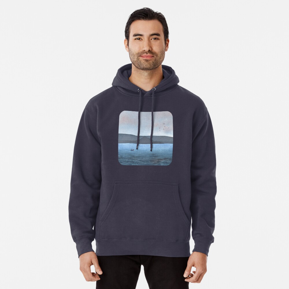 Berwick Law and Craig Leith, November 2018 Pullover Hoodie