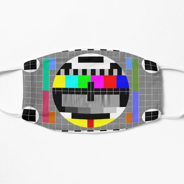 SMPTE Standard Definition Television Color Bars Slim Fit Mask