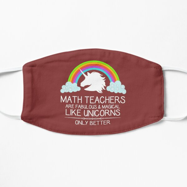 Math Teacher Gifts - Math Teachers Are Like Unicorns Funny Gift Ideas for Teacher Appreciation & Thank You at Graduation Mask