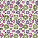 Kaleidoscope Eye Strain iPhone case by Megan Manske
