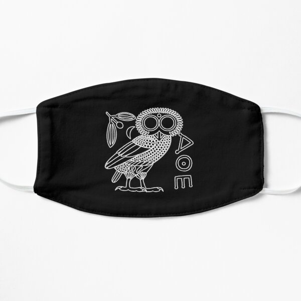 Owl of Athena [Black + All] Mask