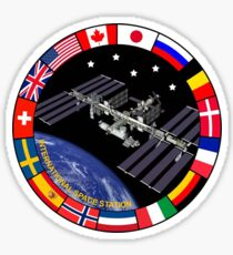 ISS Composite Logo Sticker