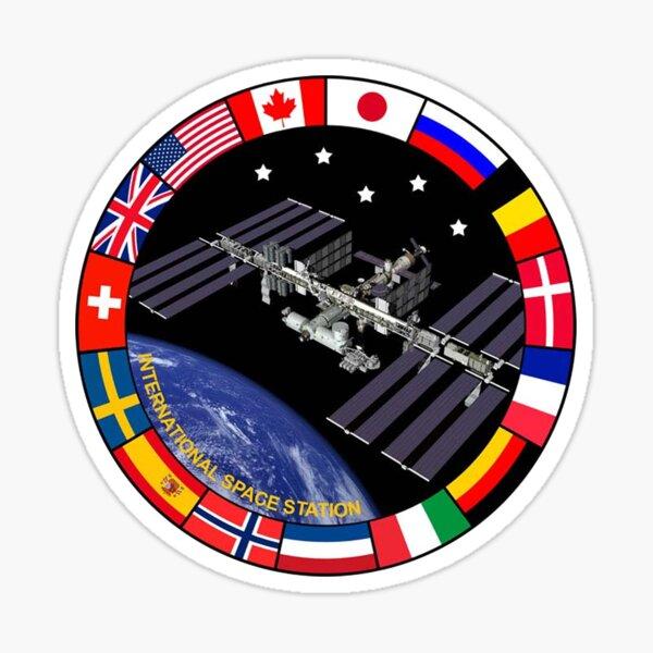 ISS Composite Logo Sticker
