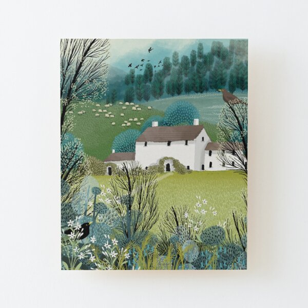 Home Sweet Home Wood Mounted Print