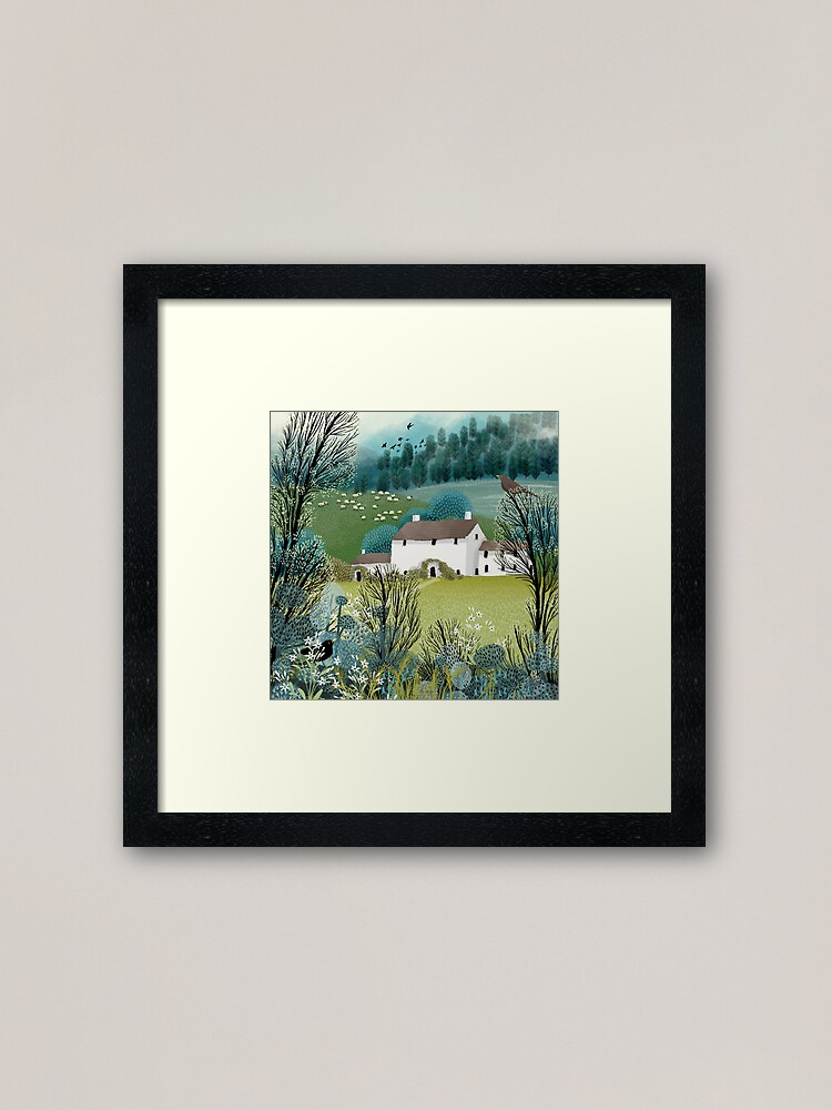 Alternate view of Home Sweet Home Framed Art Print