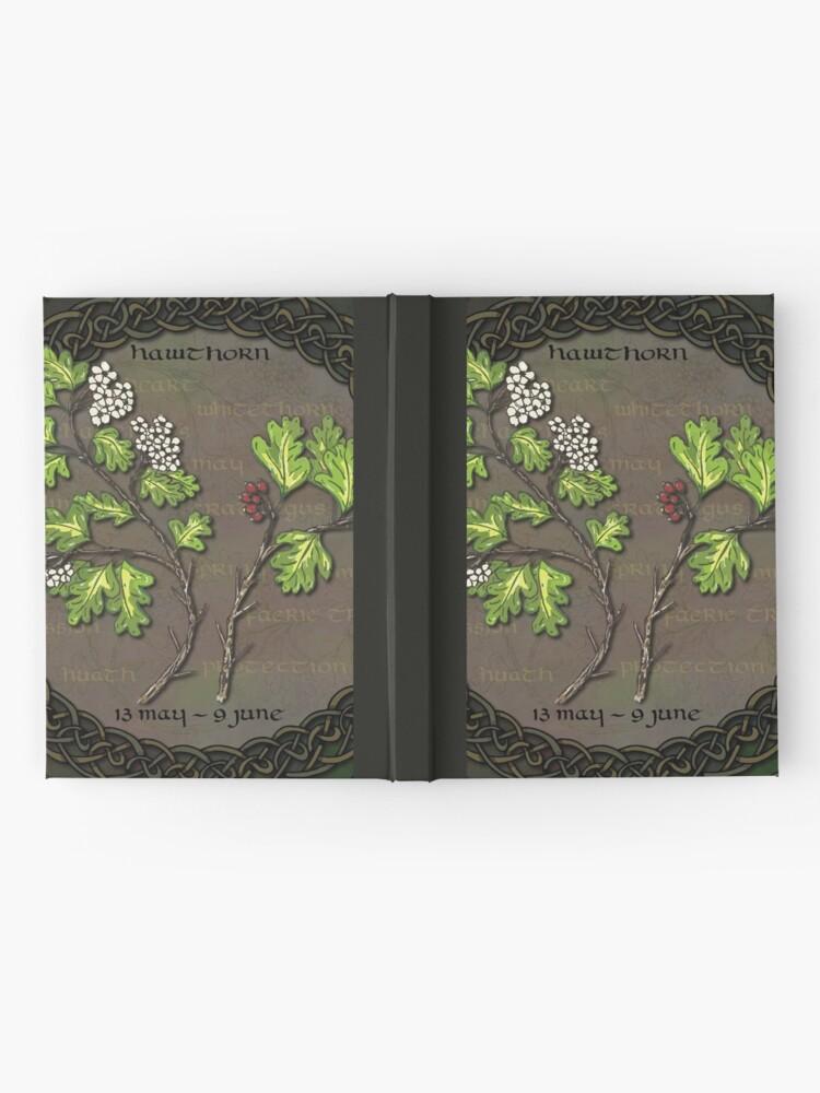 Alternate view of Celtic Tree Calendar - Hawthorn Hardcover Journal