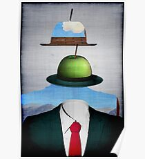 Tribute to René Magritte Poster