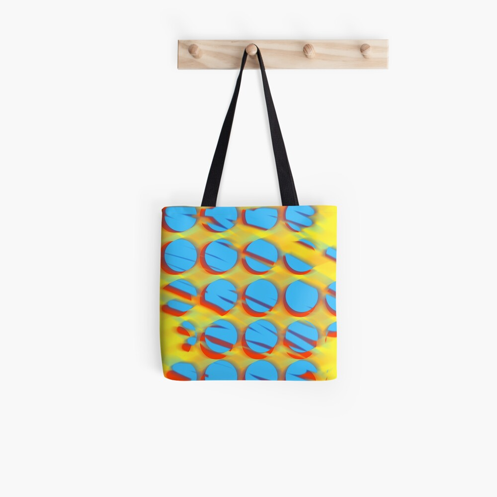 Shattered dots Tote Bag