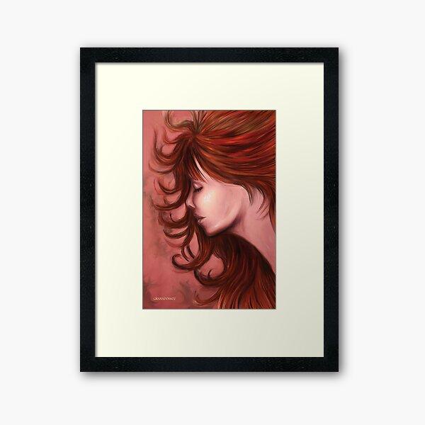 Lady Love Framed Art Print