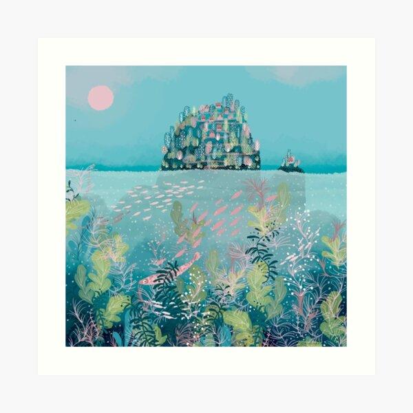 Island dreaming Art Print