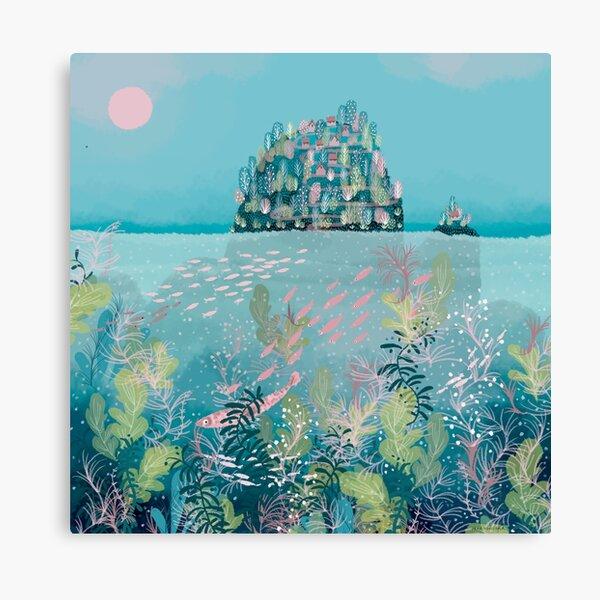 Island dreaming Canvas Print