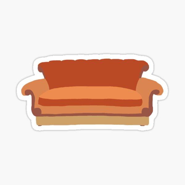 Minimalistic Couch Sticker