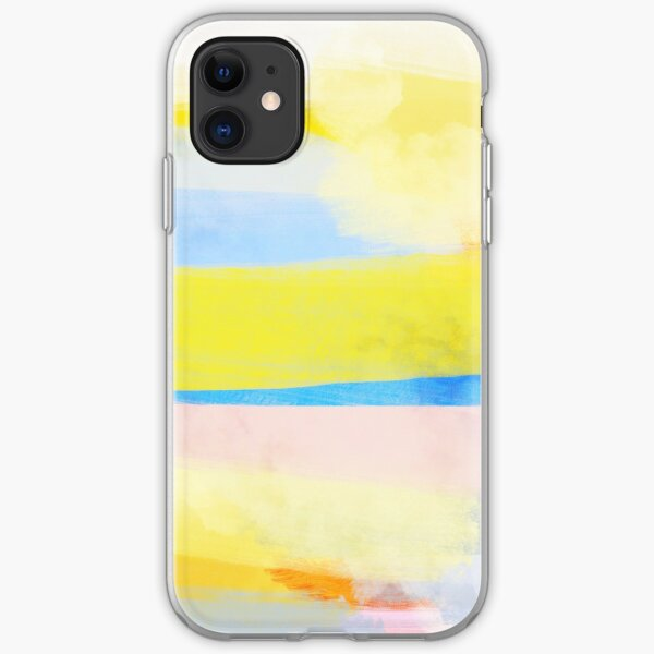 Swipes of sunlight iPhone Soft Case