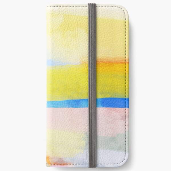 Swipes of sunlight iPhone Wallet