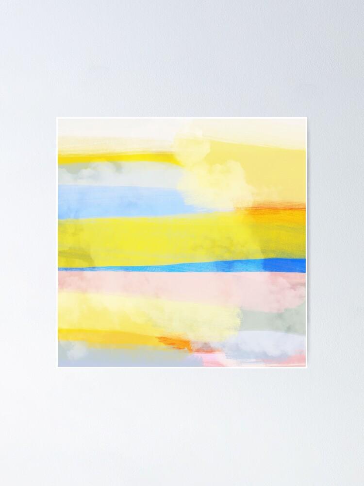 Alternate view of Swipes of sunlight Poster