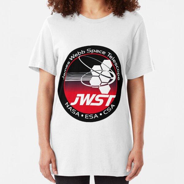 James Webb Space Telescope Component Logo Slim Fit T-Shirt