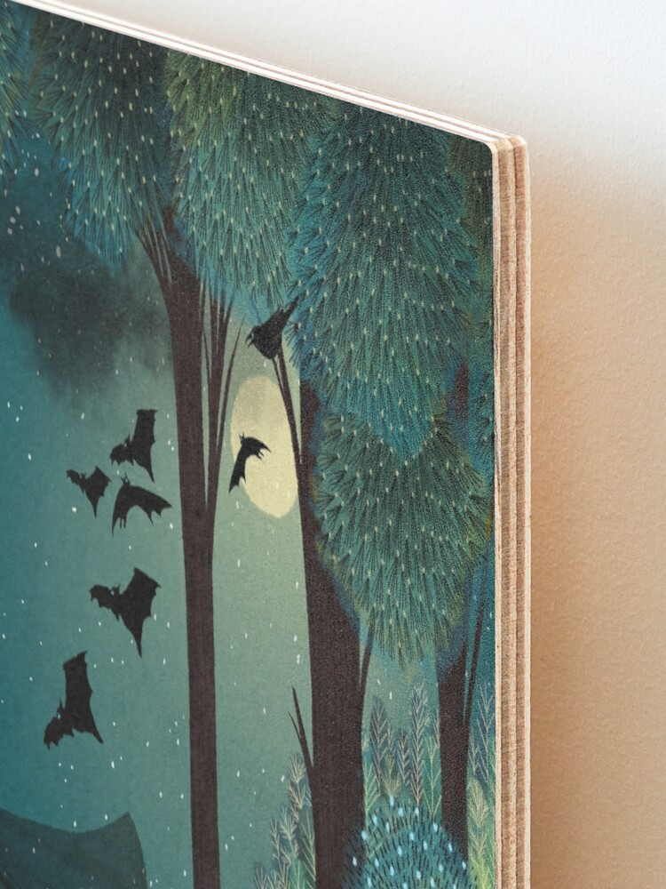 Alternate view of The Witching Hour Mounted Print