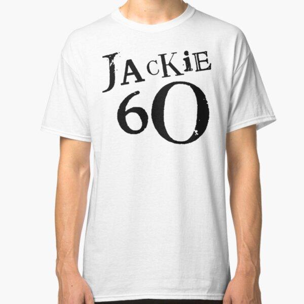 Jackie 60 Classic Black Logo on White  Classic T-Shirt