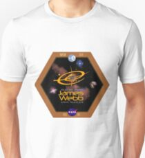 James Webb Space Telescope - NASA Program Logo Unisex T-Shirt