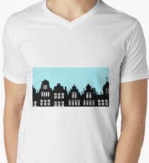 Brussels Grote Markt / Grand Place Mens V-Neck T-Shirt