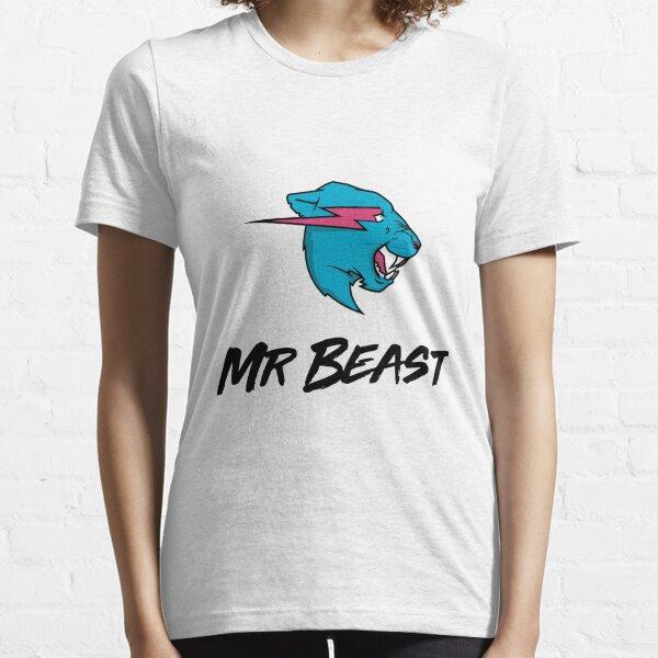Mr Beast  Original Lightning Cat Hoodie Or T-Shirt YouTuber Merch Adults & Kids Essential T-Shirt