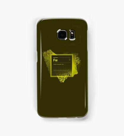 Fire Works CS6 Splash Screen Samsung Galaxy Case/Skin