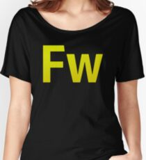 Fire Works CS6 Letters Women's Relaxed Fit T-Shirt