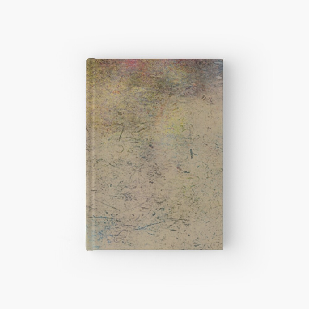 Grungy mood Hardcover Journal