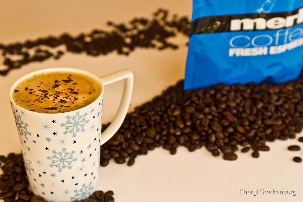 Wake up and smell the coffee by Cheryl Sterkenburg