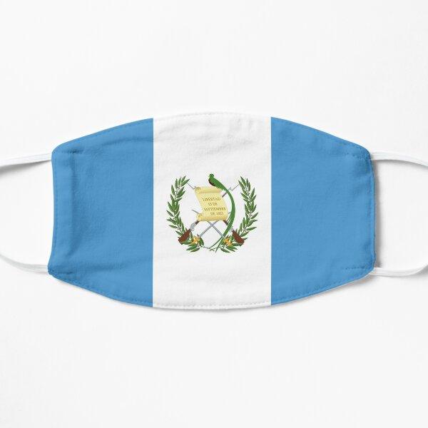 face mask flag of Guatemala design pandemia virus Flat Mask