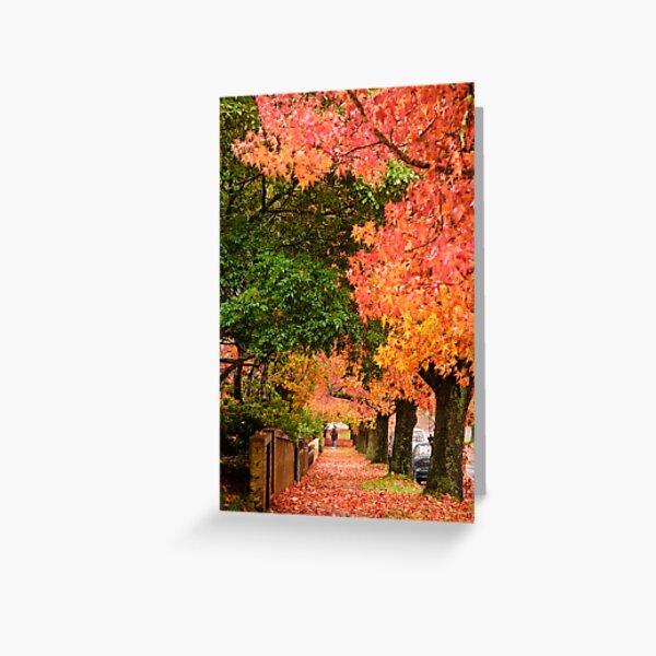 Blackheath Autumn Greeting Card