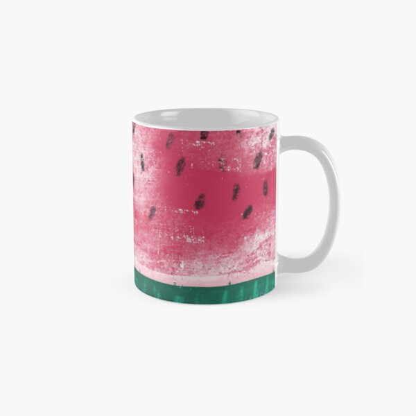 Melon in chalk optics Classic Mug