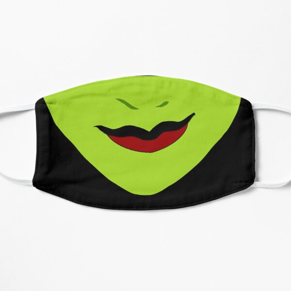 Elphaba Smile - Wicked Mask Flat Mask