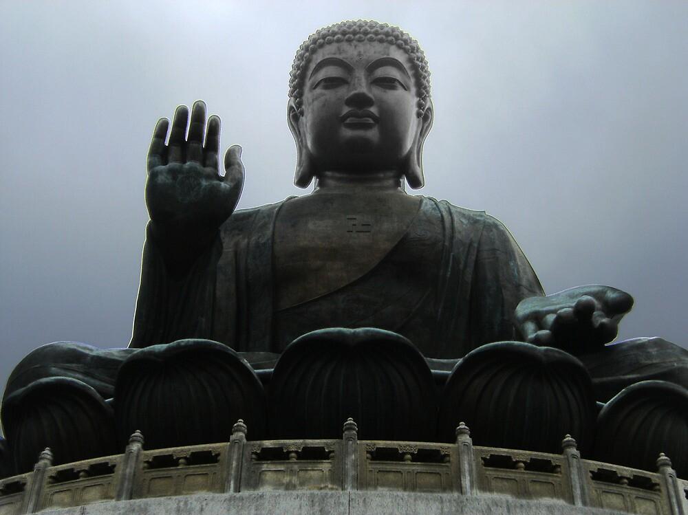 Giant Buddha Statue by cadellin