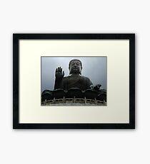 Giant Buddha Statue Framed Print