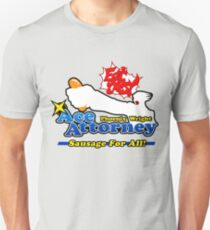 Ace Attorney: Sausage For All T-Shirt