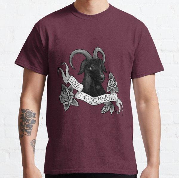 Live Deliciously Black Phillip Classic T-Shirt