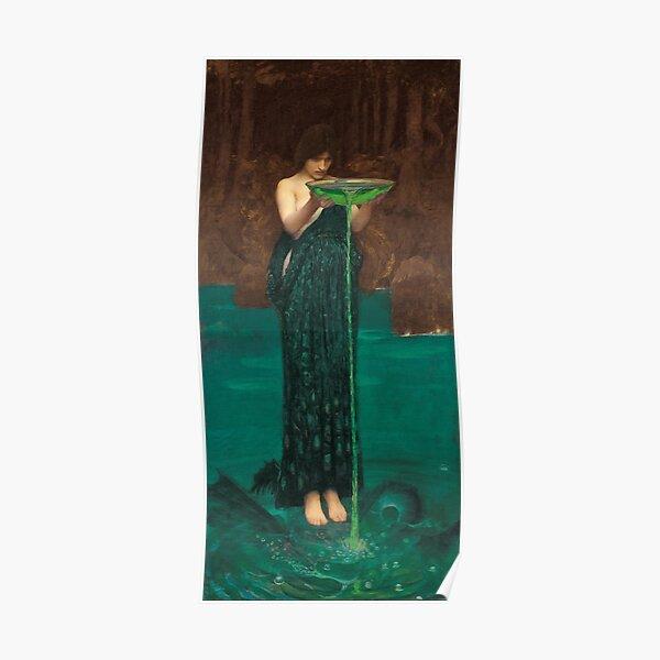 Circe Invidiosa - John William Waterhouse Poster