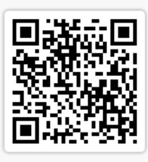 qr code stickers redbubble